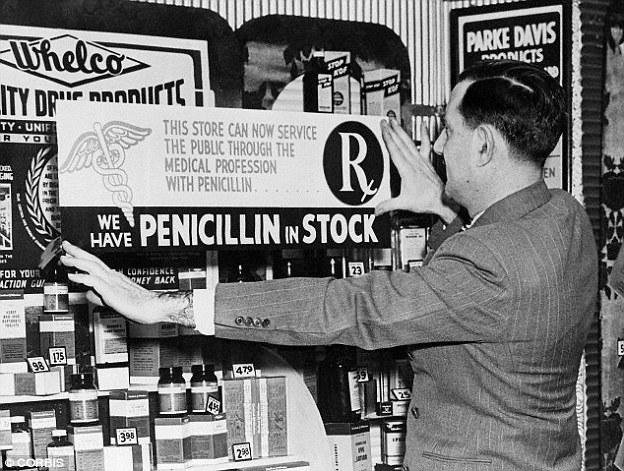 old penicillin advert