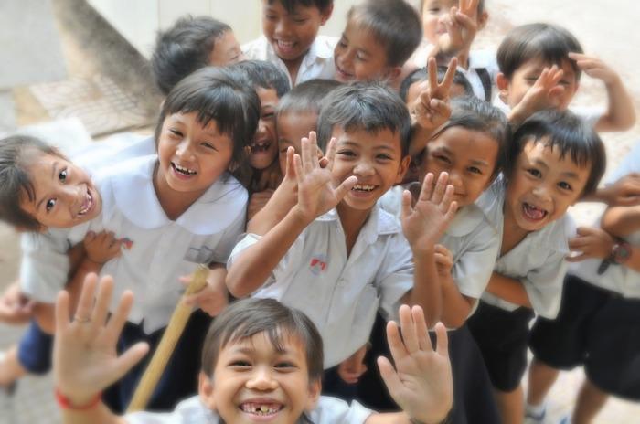 children-at school